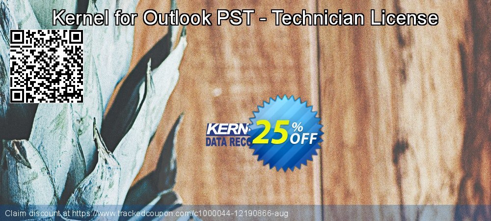 Kernel for Outlook PST - Technician License coupon on Halloween offering sales