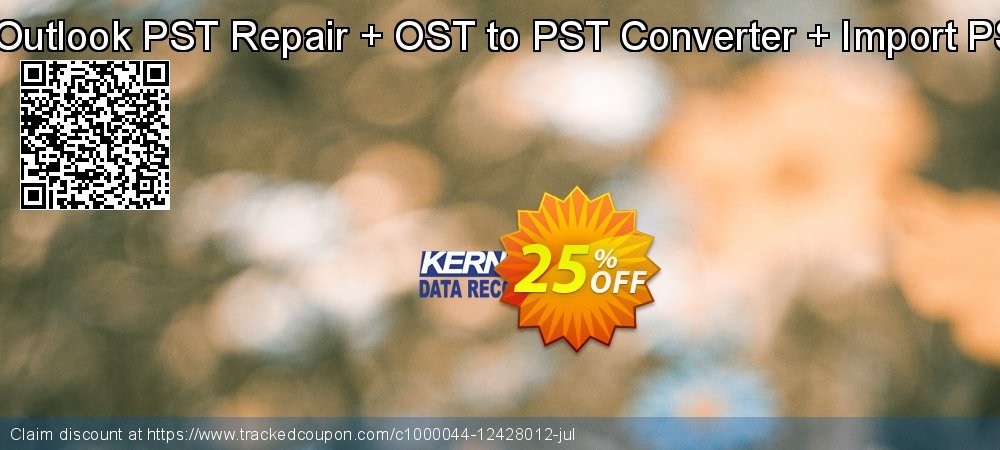 Kernel Combo Offer: Outlook PST Repair + OST to PST Converter + Import PST to Office 365 coupon on College Student deals sales