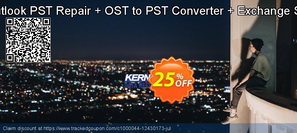 Kernel Bundle: Outlook PST Repair + OST to PST Converter + Exchange Server - Corporate  coupon on Mid-Autumn Moon deals