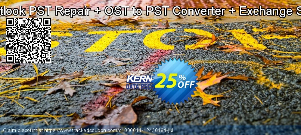 Kernel Combo Offer: Outlook PST Repair + OST to PST Converter + Exchange Server - Technician  coupon on University Student offer offering discount