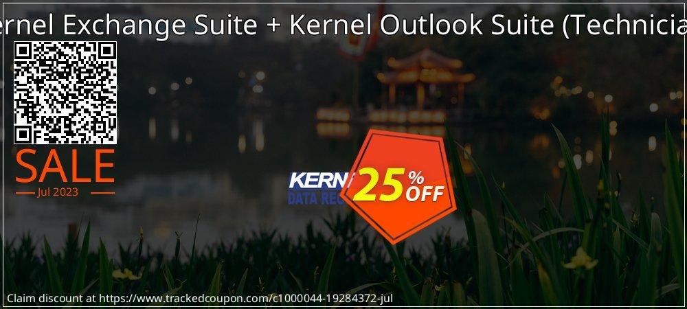 Kernel Exchange Suite - Technician License + Kernel Outlook Suite - Technician License   coupon on Back to School deals discounts