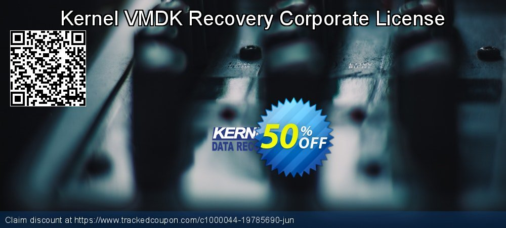 Kernel VMDK Recovery Corporate License coupon on National Cleanup Day discounts