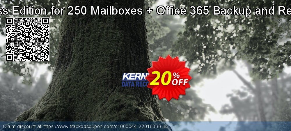 Get 20% OFF Kernel Bundle ( KME Express Edition for 250 Mailboxes + Office 365 Backup and Restore + IMAP to Office 365 ) offering sales