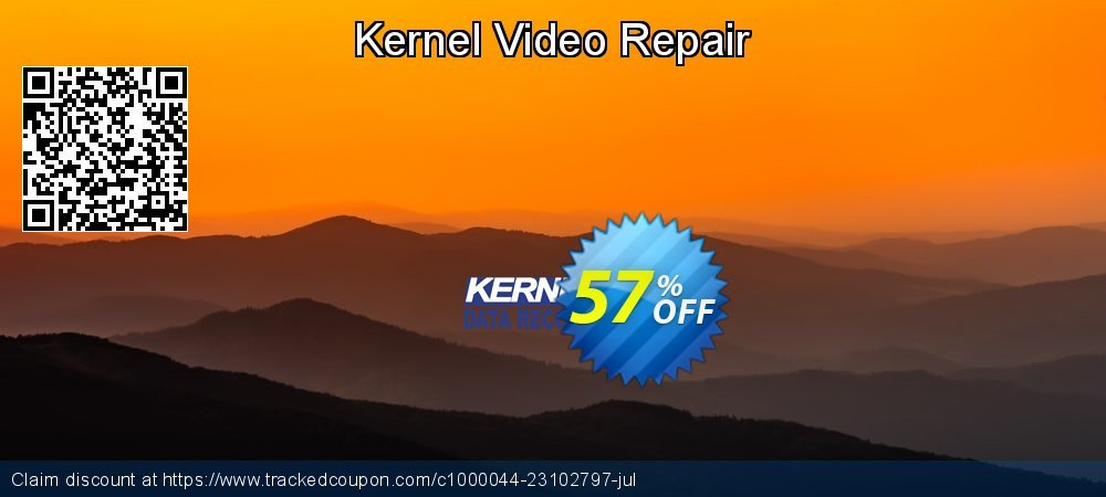 Kernel Video Repair coupon on Easter Sunday super sale