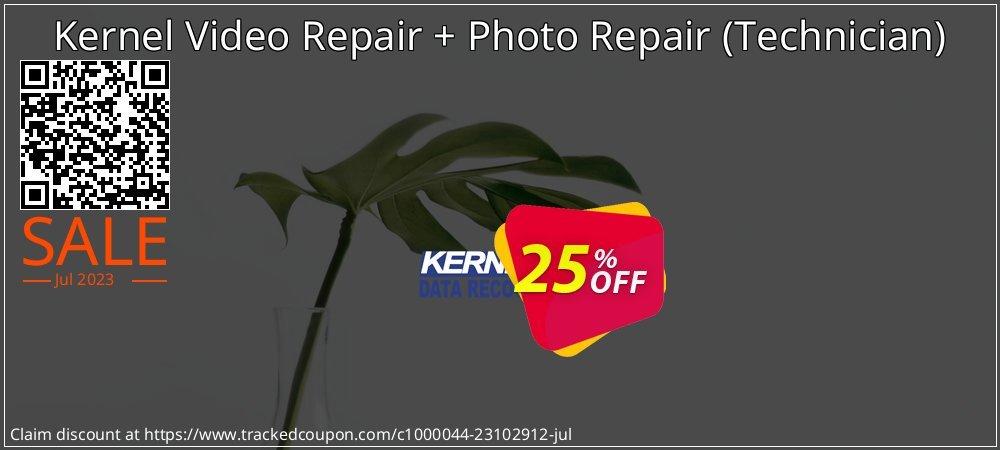 Claim 25% OFF Kernel Video Repair - Technician Coupon discount September, 2021