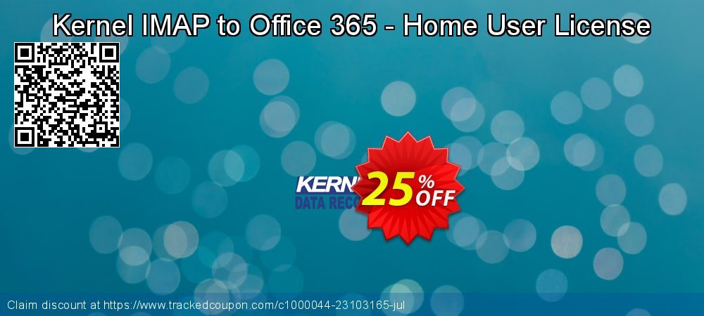 Kernel IMAP to Office 365 - Home User License coupon on Halloween offer