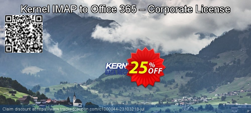 Kernel IMAP to Office 365 – Corporate License coupon on Halloween deals
