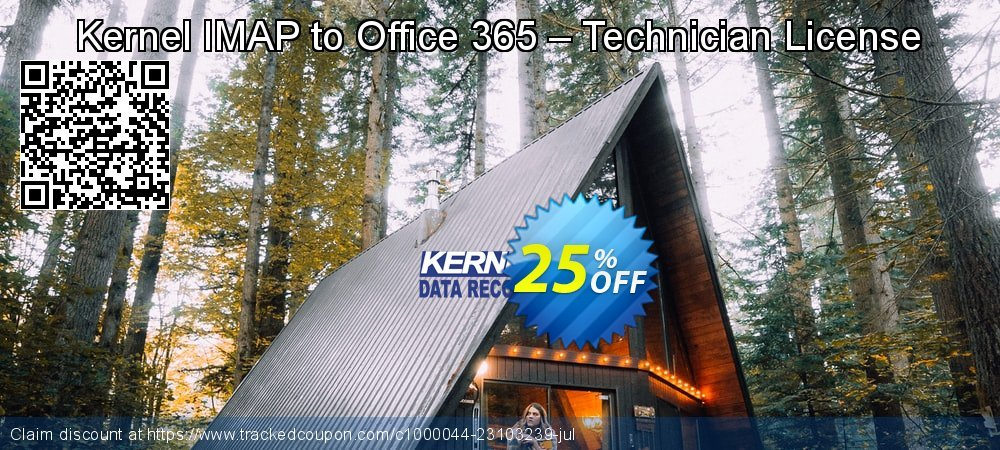 Kernel IMAP to Office 365 – Technician License coupon on Halloween offering discount
