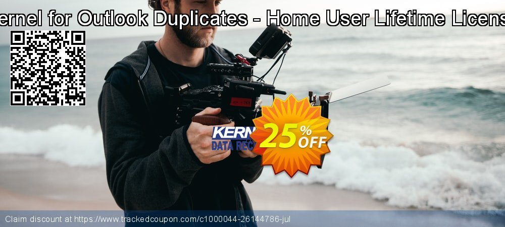 Kernel for Outlook Duplicates - Home User Lifetime License coupon on Halloween deals