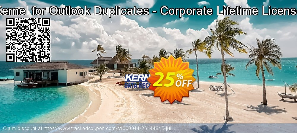 Kernel for Outlook Duplicates - Corporate Lifetime License coupon on Halloween discount