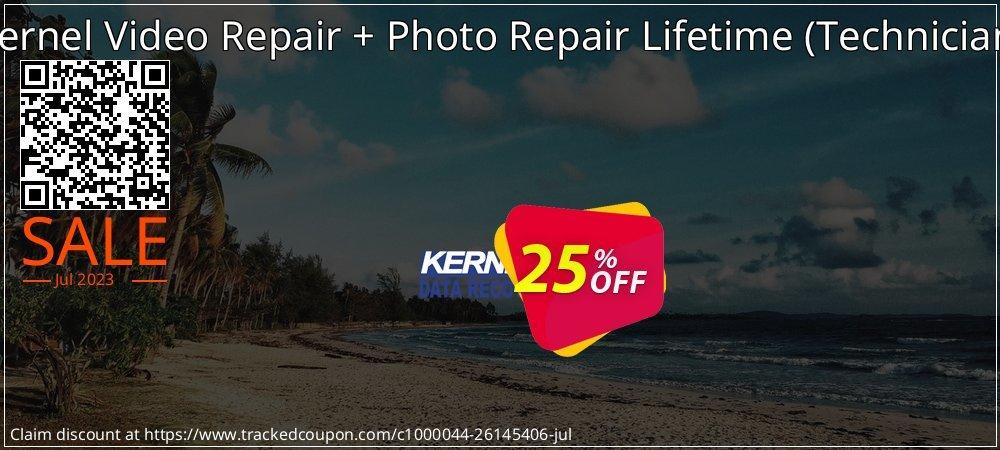 Kernel Video Repair + Photo Repair Lifetime - Technician  coupon on Grandparents Day promotions