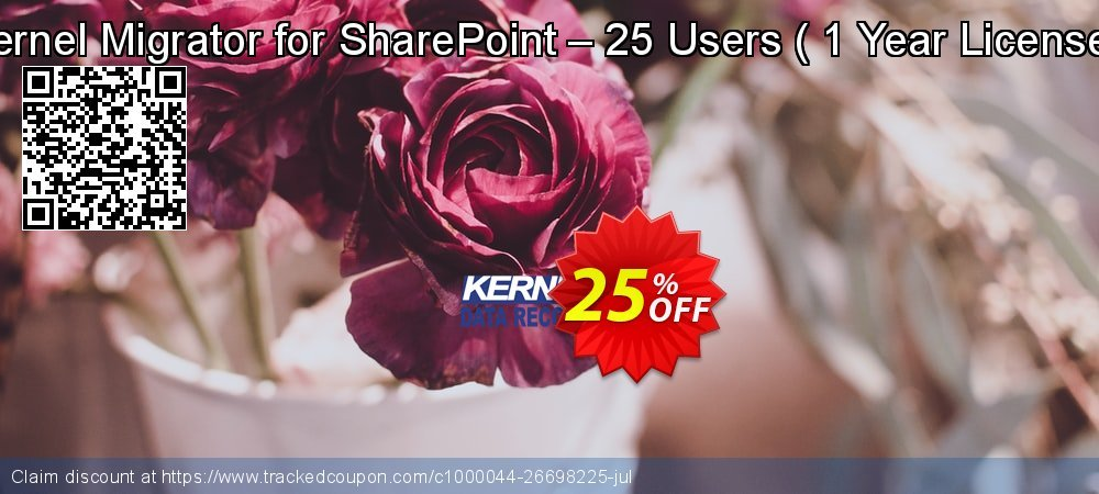 Kernel Migrator for SharePoint – 25 Users -  1 Year License   coupon on Halloween discount