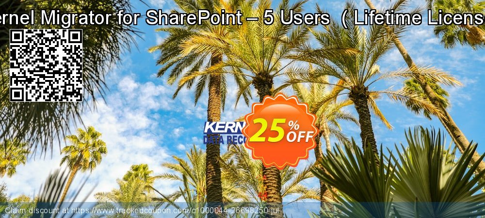 Kernel Migrator for SharePoint – 5 Users  -  Lifetime License   coupon on Halloween deals