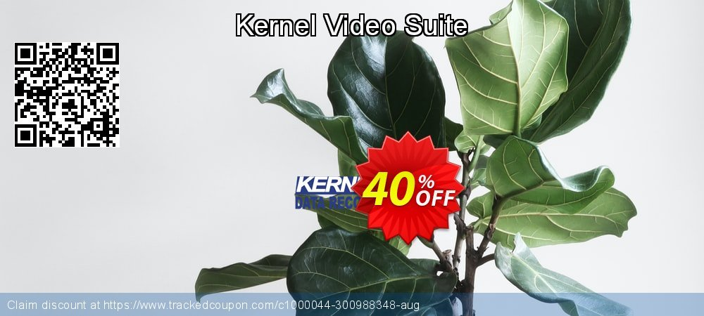 Kernel Video Suite coupon on Wildlife month offering sales