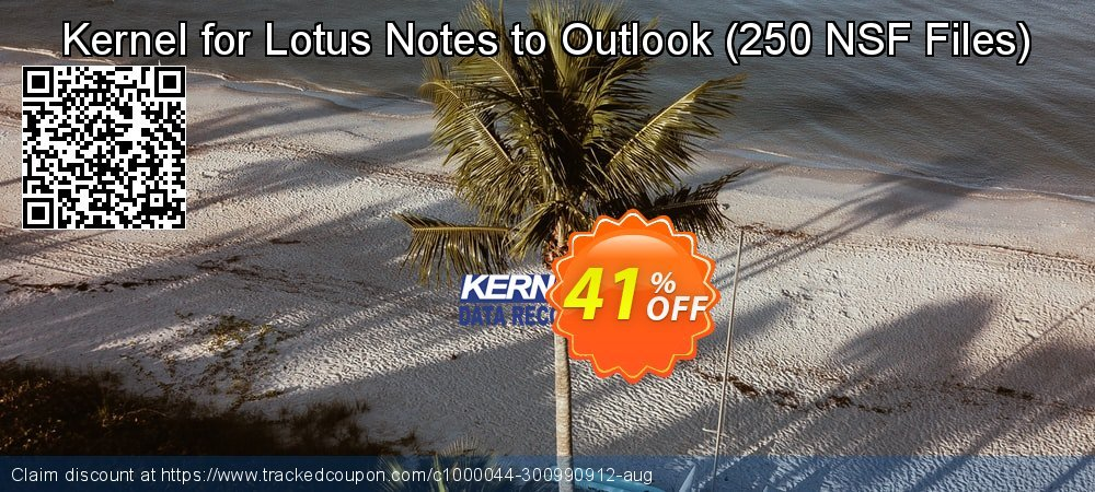 Kernel for Lotus Notes to Outlook - 250 NSF Files  coupon on Sexual Health Day offering discount