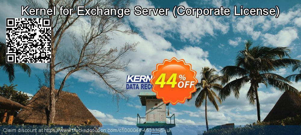 Get 20% OFF Kernel Recovery for Exchange Server - Corporate License offering sales