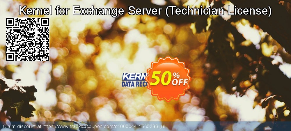 Kernel for Exchange Server - Technician License  coupon on Grandparents Day offering discount