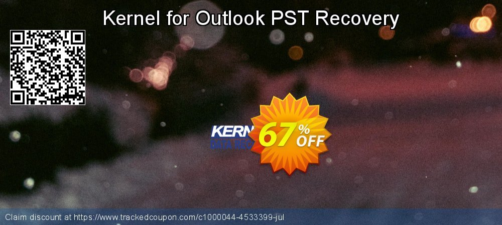 Claim 67% OFF Kernel for Outlook PST Recovery Coupon discount April, 2021