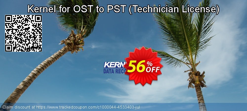 Kernel for OST to PST - Technician License  coupon on Halloween discount