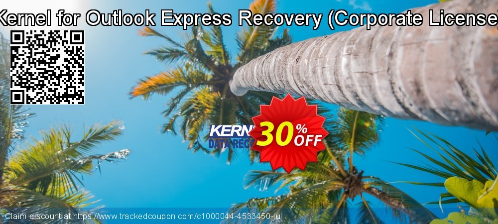 Kernel for Outlook Express Recovery - Corporate License  coupon on Halloween offering sales