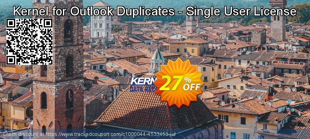 Kernel for Outlook Duplicates - Single User License coupon on Halloween promotions