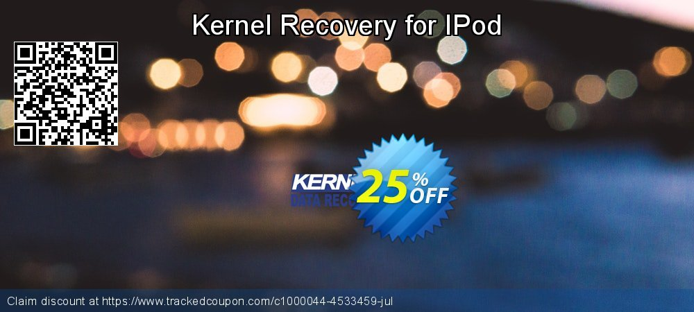Kernel Recovery for IPod coupon on Valentine's Day super sale