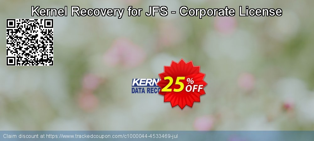 Kernel Recovery for JFS - Corporate License coupon on Halloween super sale