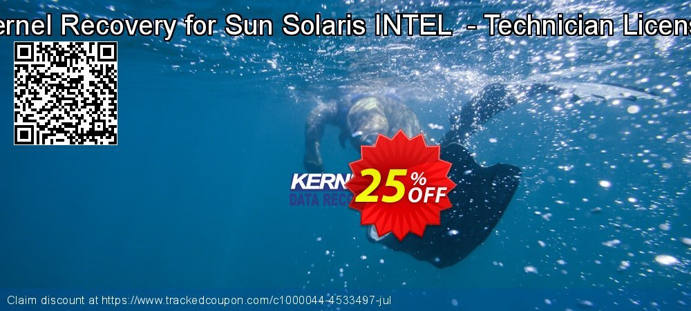 Kernel Recovery for Sun Solaris INTEL  - Technician License coupon on Halloween discounts