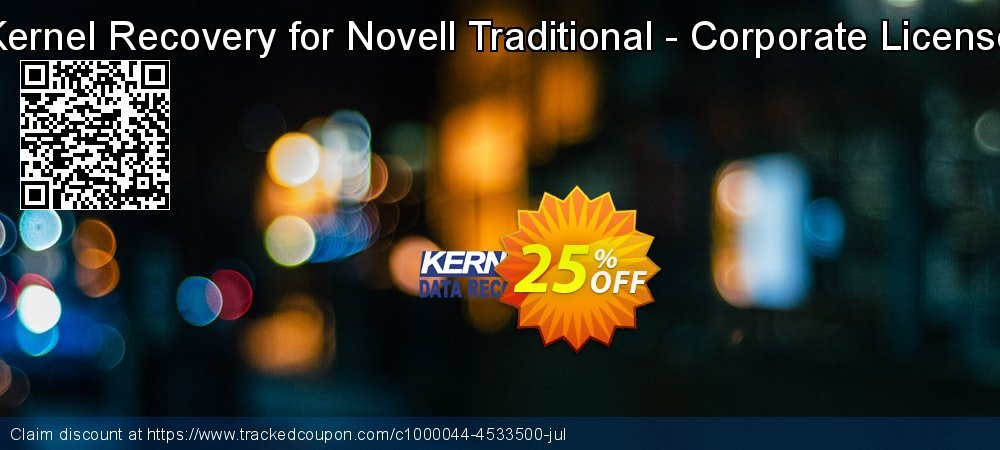 Kernel Recovery for Novell Traditional - Corporate License coupon on Natl. Doctors' Day discount
