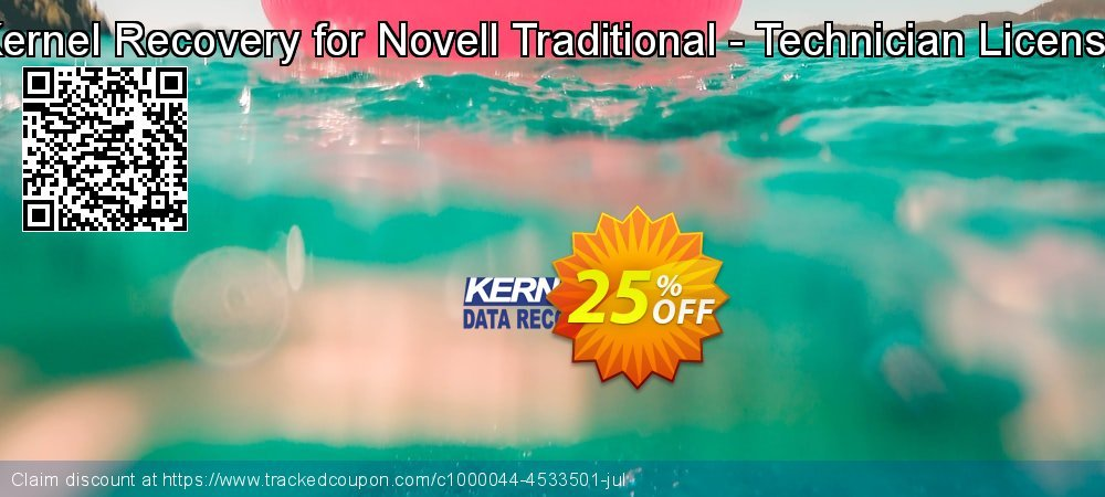Kernel Recovery for Novell Traditional - Technician License coupon on Int'l. Women's Day offering discount