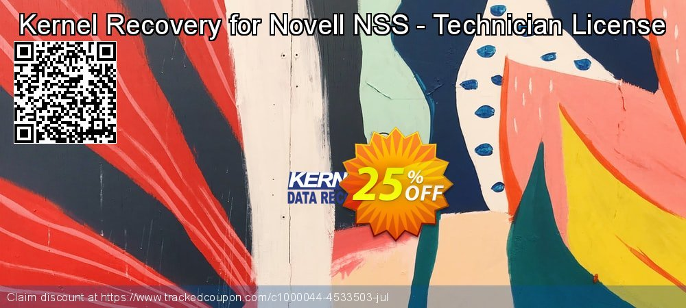 Kernel Recovery for Novell NSS - Technician License coupon on Valentines Day offering sales
