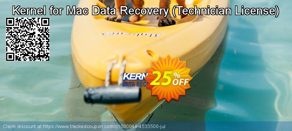 Kernel for Mac Data Recovery - Technician License  coupon on Natl. Doctors' Day sales