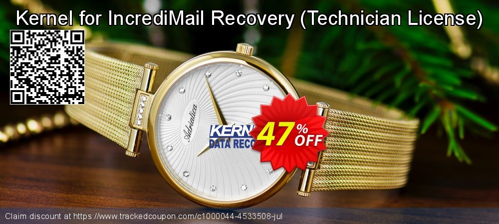 Kernel for IncrediMail Recovery - Technician License  coupon on Valentines Day deals