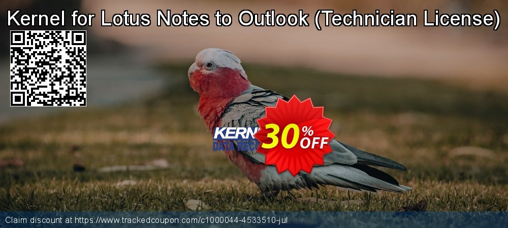 Kernel for Lotus Notes to Outlook - Technician License  coupon on American Chess Day deals