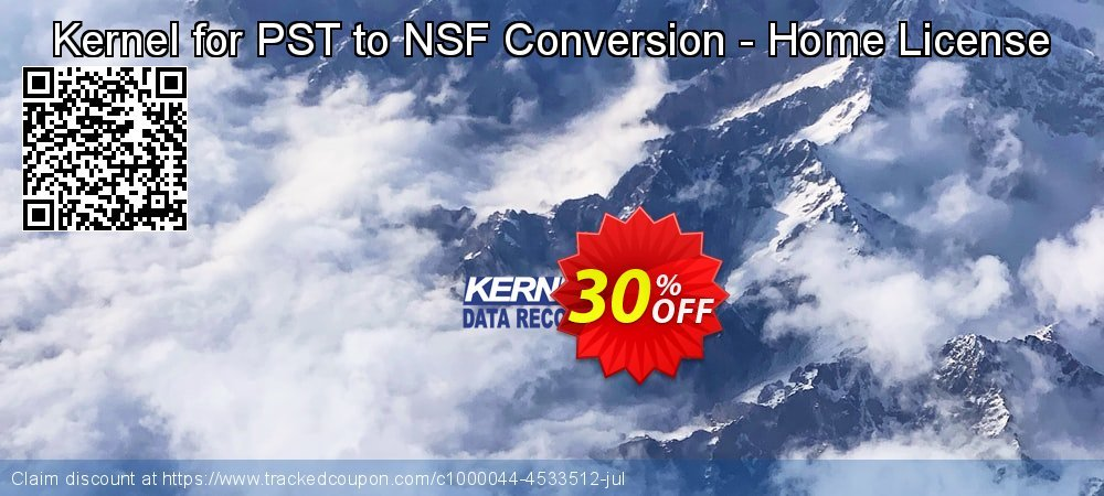 Kernel for PST to NSF Conversion - Home License coupon on Halloween offering discount