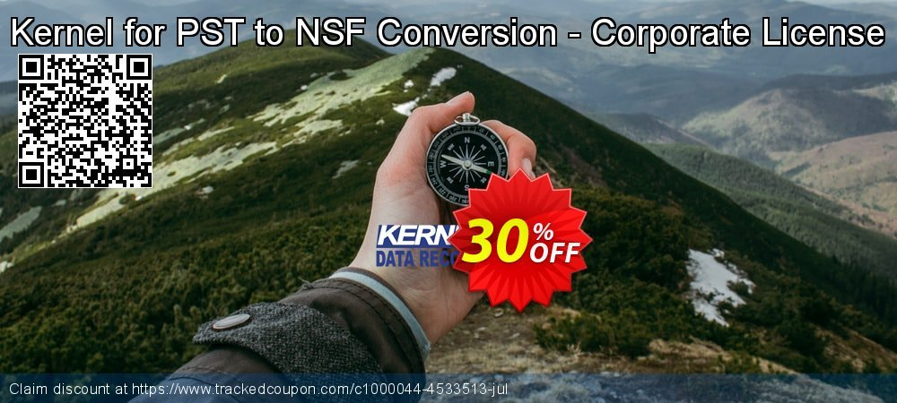 Kernel for PST to NSF Conversion - Corporate License coupon on Halloween offering sales