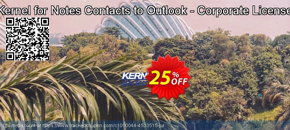 Kernel for Notes Contacts to Outlook - Corporate License coupon on Natl. Doctors' Day sales