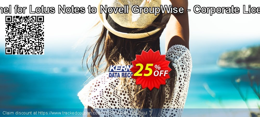 Kernel for Lotus Notes to Novell GroupWise - Corporate License coupon on Natl. Doctors' Day super sale