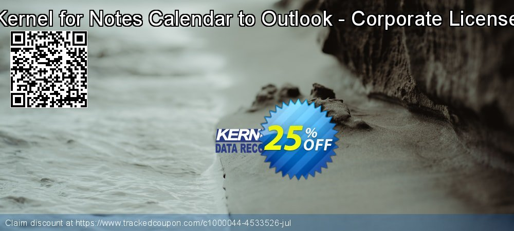 Kernel for Notes Calendar to Outlook - Corporate License coupon on Halloween sales