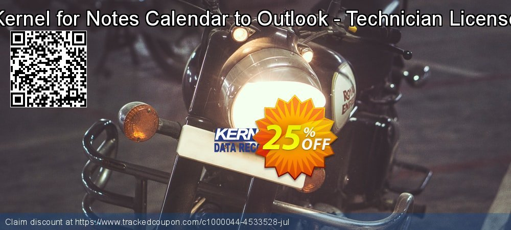 Kernel for Notes Calendar to Outlook - Technician License coupon on Halloween offer