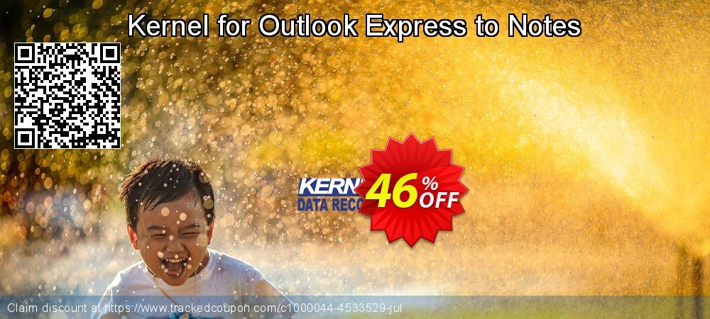 Kernel for Outlook Express to Notes coupon on Halloween discount