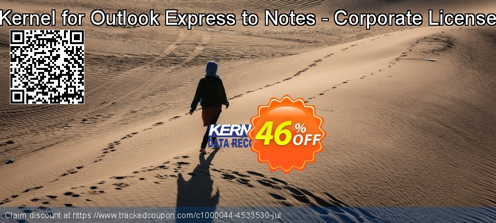 Kernel for Outlook Express to Notes - Corporate License coupon on Valentine Week offering sales