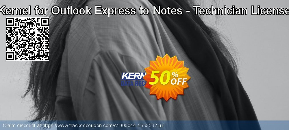Claim 50% OFF Kernel for Outlook Express to Notes - Technician License Coupon discount May, 2020