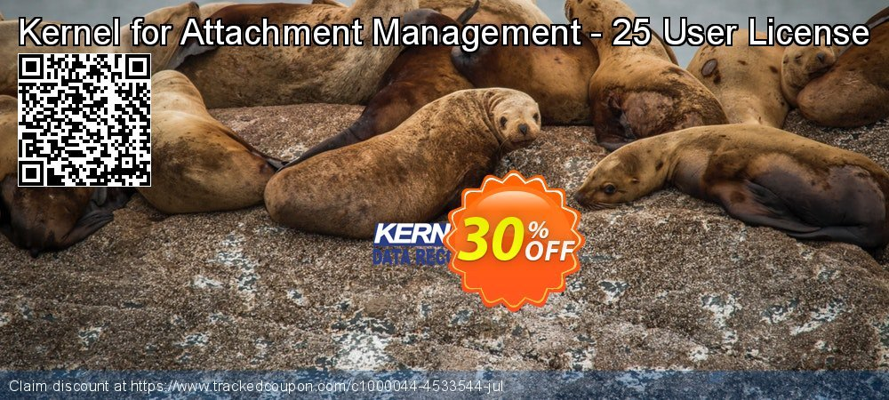 Kernel for Attachment Management - 25 User License coupon on Read Across America Day offer