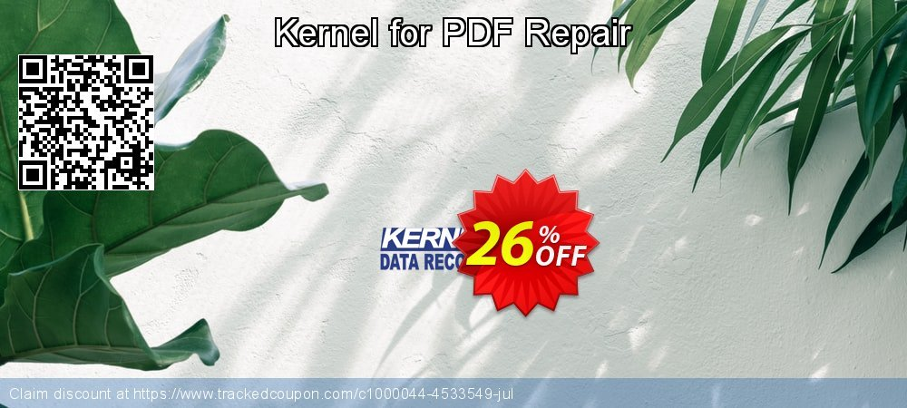 Kernel for PDF Repair coupon on Halloween offering sales