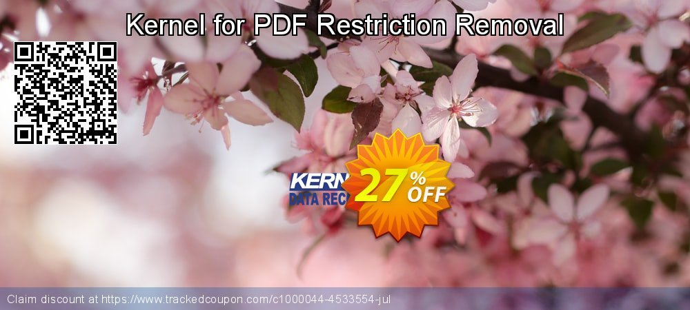 Kernel for PDF Restriction Removal coupon on Halloween deals