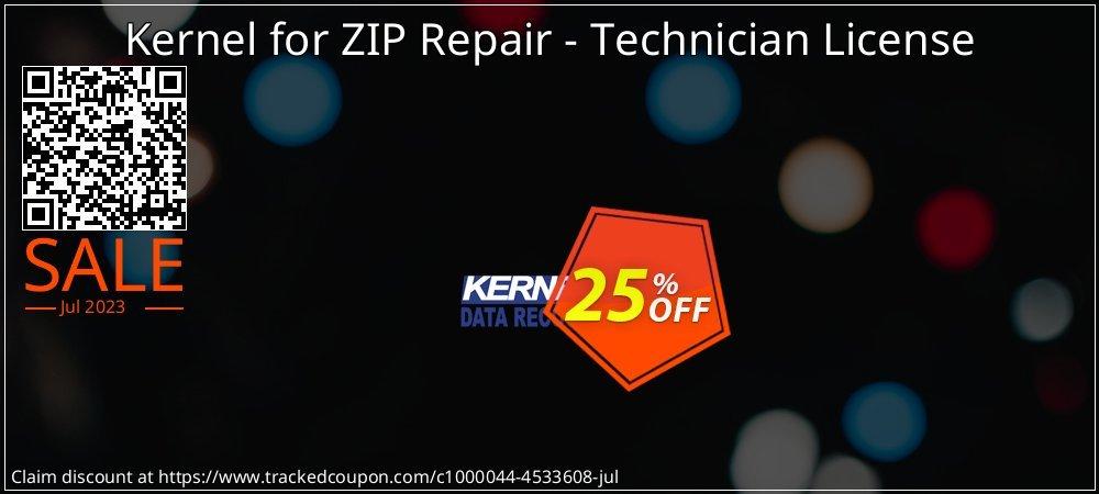 Kernel for ZIP Repair - Technician License coupon on Halloween deals