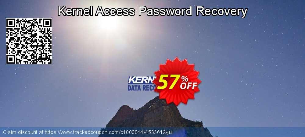 Kernel Access Password Recovery coupon on American Chess Day offering discount