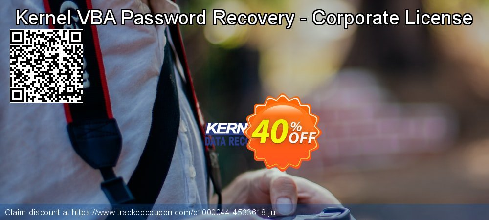 Kernel VBA Password Recovery - Corporate License coupon on Int'l. Women's Day offering discount