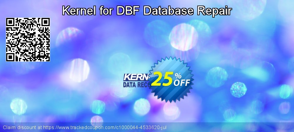 Kernel for DBF Database Repair coupon on Natl. Doctors' Day super sale